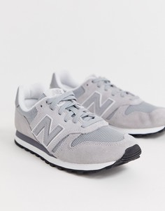 Серые кроссовки New Balance 373-Серый