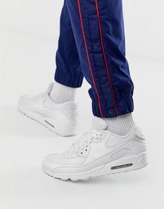 Белые кроссовки Nike Air Max 90 essential-Белый