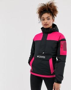 Черная и розовая куртка-пуловер Columbia Challenger-Черный