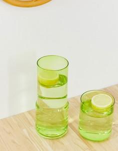 Набор из стакана и графина для воды ASOS SUPPLY-Мульти