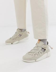 Белые кроссовки Clarks Originals Trievo-Белый