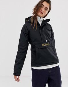 Черная куртка-пуловер Columbia Challenger-Черный