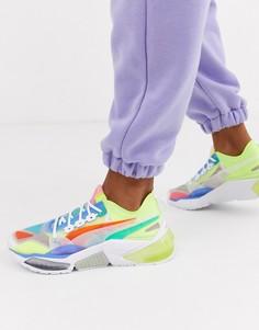 Разноцветные кроссовки Puma LQDCELL Optic Interest-Мульти