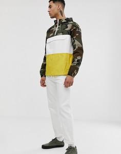 Куртка с камуфляжным принтом Element Covert-Зеленый
