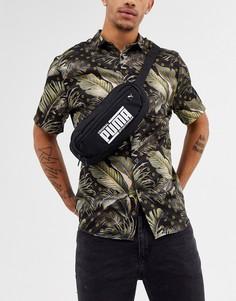 Черная сумка-кошелек на пояс Puma-Черный