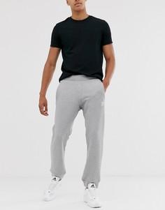 Серые джоггеры с логотипом adidas Originals-Серый