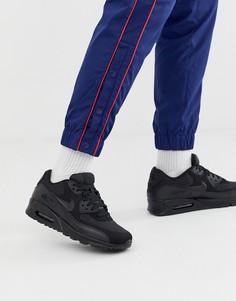 Черные кроссовки Nike Air Max 90 essential-Черный