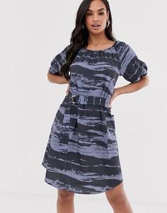 Платье с рукавами реглан Closet-Синий