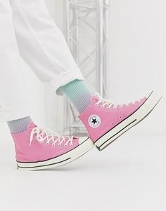Розовые кеды Converse Chuck 70-Розовый