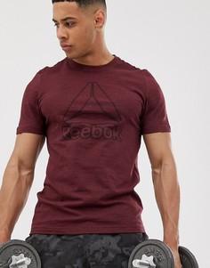Красная футболка Reebok Training-Красный