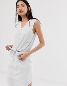 Платье в полоску Selected Femme-Мульти