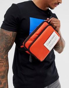 Оранжевая сумка через плечо с логотипом Calvin Klein Avenue-Оранжевый