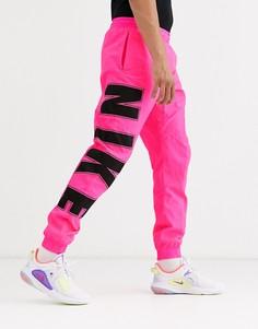 Розовые джоггеры Nike-Розовый