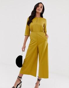 Комбинезон с широкими штанинами Closet-Желтый