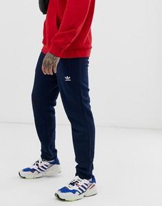Темно-синие джоггеры с логотипом adidas Originals-Темно-синий