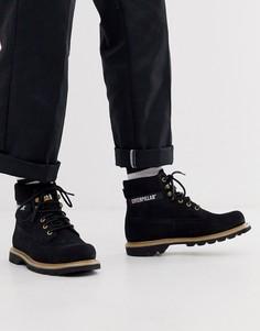 Черные походные ботинки Caterpillar colorado-Черный