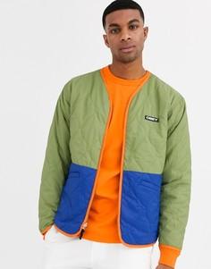 Зеленая куртка Obey Nonsense-Зеленый