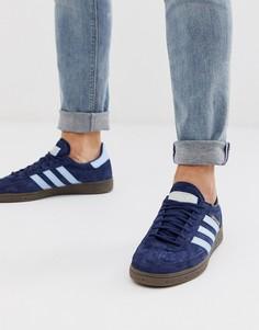 Темно-синие кроссовки на резиновой подошве adidas Originals-Темно-синий