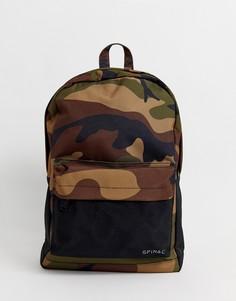 Рюкзак с камуфляжным принтом Spiral - Prime-Зеленый