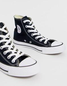 Черные высокие кроссовки Converse Chuck Taylor All Star-Черный