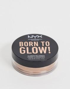 Пудра-иллюминайзер NYX Professional Makeup Born To Glow - Desert Night-Золотой