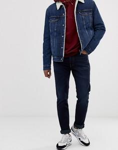 Темно-синие узкие джинсы с заниженной талией Levis 511 - durian-Синий