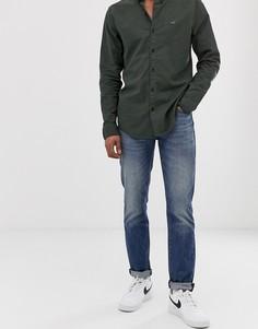 Выбеленные узкие джинсы с заниженной талией Levis 511 - thresher warp cool-Синий