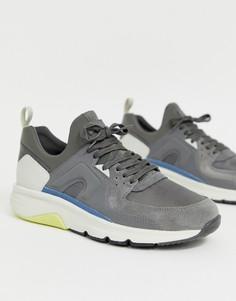 Серые кроссовки Camper drift-Серый
