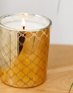 Золотистая свеча с монограммой River Island-Золотой