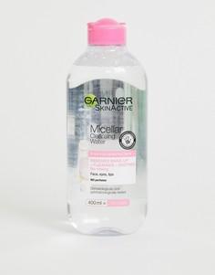 Очищающая мицеллярная вода для чувствительной кожи Garnier, 400 мл-Бесцветный