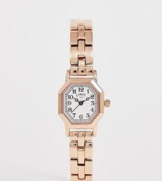 Наручные часы цвета розового золота Limit Octagonal эксклюзивно для ASOS-Золотой
