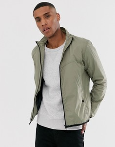 Куртка с воротником-стойкой French Connection-Зеленый