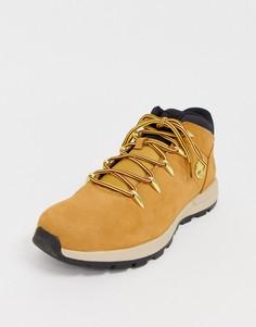 Походные ботинки пшеничного цвета Timberland - euro sprint-Бежевый