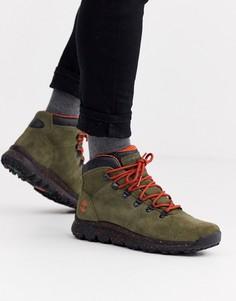 Походные ботинки цвета хаки Timberland world-Зеленый