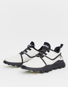 Белые кроссовки из оксфордской ткани рипстоп Timberland brooklyn-Белый