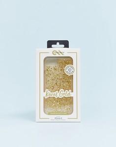 Чехол золотистого цвет для iphone 8/7/6 Case-mate - karat-Золотой