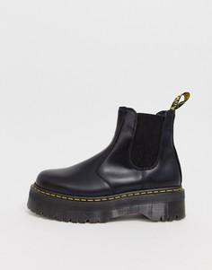 Черные ботинки челси на платформе Dr Martens 2976-Черный