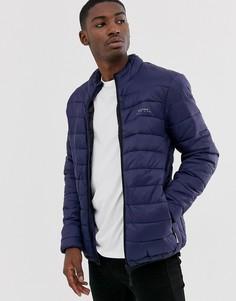 Дутая куртка с воротником-стойкой Bellfield-Темно-синий