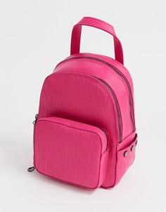 Ярко-розовый маленький рюкзак с застежкой-молнией Juicy - aspen