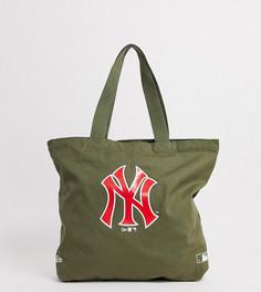 Зеленая сумка-тоут с логотипом в стиле ретро эксклюзивно от New Era NY-Зеленый