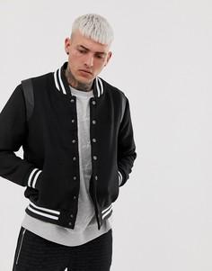 Бомбер Couture Club-Черный