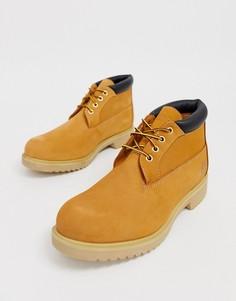 Ботинки чукка пшеничного цвета Timberland newman-Коричневый