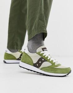 Зеленые кроссовки Saucony Jazz Original-Зеленый