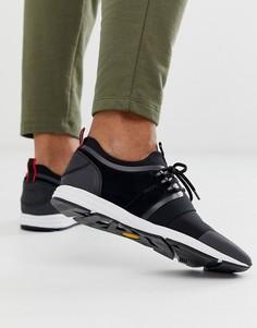 Черные кроссовки для бега HUGO-Черный