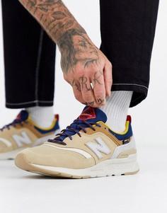 Коричневые кроссовки New Balance 997H Cordura-Коричневый