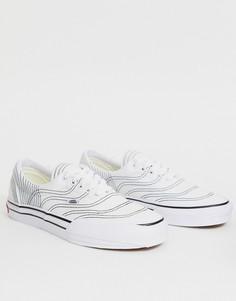 Белые кроссовки Vans Era 3ra-Белый