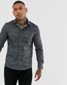 Рубашка с длинными рукавами Bolongaro Trevor-Черный