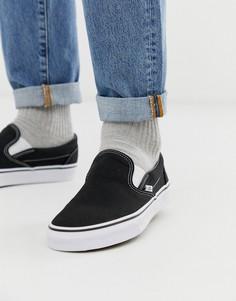 Черные кеды-слипоны Vans Classic-Черный