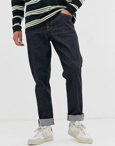 Зауженные джинсы Nudie Jeans Co Steady Eddie II-Темно-синий