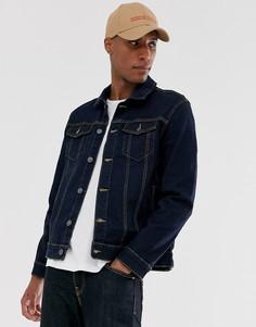 Джинсовая куртка с логотипом French Connection-Синий